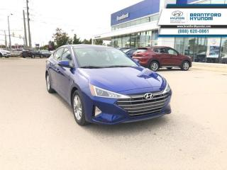 New 2019 Hyundai Elantra Preferred w/sun and safety pkg  - $135.15 B/W for sale in Brantford, ON