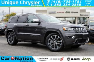 Used 2018 Jeep Grand Cherokee OVERLAND| ECODIESEL| DVD| NAV| ACTIVE SAFETY GRP for sale in Burlington, ON