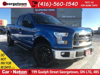 Used 2015 Ford F-150 XLT SUPERCAB   2.7L   4X4   BU CAM   20' WHEELS for sale in Georgetown, ON