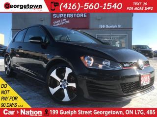 Used 2015 Volkswagen GTI 3-Door Autobahn | | PANO ROOF | HTD SEATS | for sale in Georgetown, ON