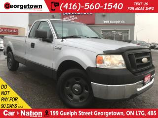 Used 2007 Ford F-150 XL   REG CAB   8FT BOX   GREAT AFFORDABLE TRUCK for sale in Georgetown, ON