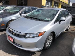 Used 2012 Honda Civic LX for sale in Hamilton, ON