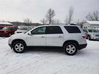 Used 2010 GMC Acadia Fwd Sunroof 183k Safetied we finance SLE2 for sale in Madoc, ON