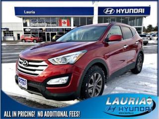 Used 2015 Hyundai Santa Fe for sale in Port Hope, ON