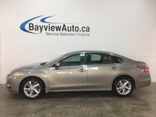Used 2015 Nissan Altima 2.5 SL - NAV! REMOTE START! REVERSE CAM! HTD LTHR! SUNROOF! ALLOYS! for sale in Belleville, ON