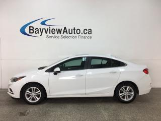 Used 2018 Chevrolet Cruze LT Auto - SUNROOF! PUSH START! ONSTAR! WIFI! REVERSE CAM! BOSE SOUND! for sale in Belleville, ON