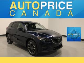 Used 2016 Mazda CX-5 GT NAVIGATION|REAR CAM|LEATHER for sale in Mississauga, ON
