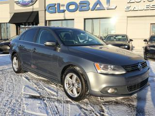 Used 2013 Volkswagen Jetta TDI HIGHLINE LEATHER SUNROOF ONLY 55 K. for sale in Ottawa, ON