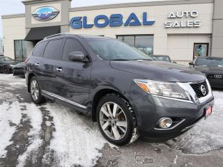 Used 2014 Nissan Pathfinder PLATINUM 4WD TOP OF THE LINE. for sale in Ottawa, ON