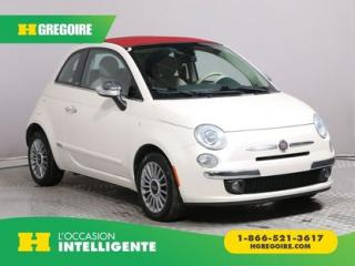 Used 2012 Fiat 500 Convertible Lounge for sale in St-Léonard, QC