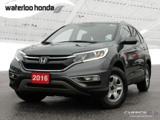 Used 2016 Honda CR-V Touring Sold Pending Customer Pick Up...Bluetooth, Back Up Camera, Navigation, and More! for sale in Waterloo, ON