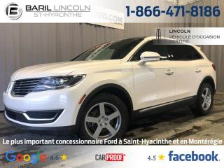 Used 2017 Lincoln MKX AWD 4DR RESERVE for sale in St-Hyacinthe, QC