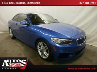 Used 2014 BMW 228i for sale in Sherbrooke, QC