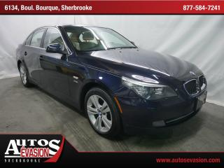 Used 2010 BMW 528 I Xdrive + Gps + Cuir for sale in Sherbrooke, QC