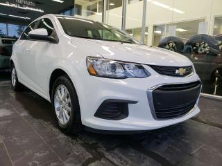 Used 2018 Chevrolet Sonic LT, BLUETOOTH, POWER ACCESSORIES for sale in Edmonton, AB