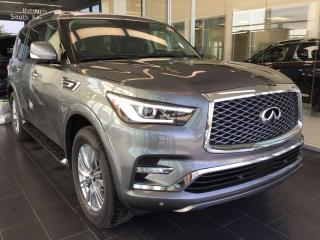 Used 2018 Infiniti QX80 EXECUTIVE DEMO 7 PASSENGER LUXURY for sale in Edmonton, AB