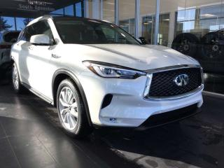 New 2019 Infiniti QX50 PROACTIVE PACKAGE for sale in Edmonton, AB