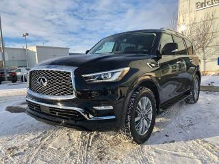New 2019 Infiniti QX80 7-PASSENGER/LUXE PKG for sale in Edmonton, AB
