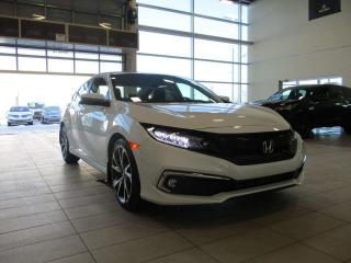 New 2019 Honda Civic Sedan Touring Navigation Heated Leather Sunroof for sale in Red Deer, AB