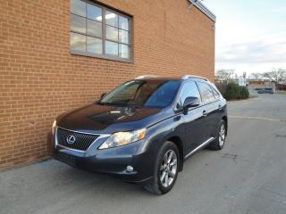 Used 2010 Lexus RX 350 NAVI/ CAM/LEATHER/SUNROOF/BLUETOOTH for sale in Oakville, ON