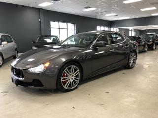 Used 2015 Maserati Ghibli S Q4*AWD*V6*404HP*ONE OWNER*NO ACCIDENTS*VERY CLEA for sale in North York, ON