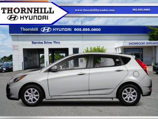 Used 2012 Hyundai Accent GLS  - Sunroof -  Bluetooth for sale in Thornhill, ON