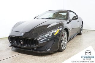 Used 2014 Maserati GranTurismo Convertible Sport for sale in Laval, QC