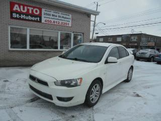 Used 2010 Mitsubishi Lancer for sale in St-Hubert, QC