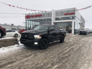 Used 2012 RAM 1500 Sport remote starter, heated steering wheel, spray in box liner, navigation, leather, heated/air cooled se for sale in Red Deer, AB