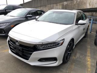 New 2019 Honda Accord Sport 1.5T for sale in Vancouver, BC