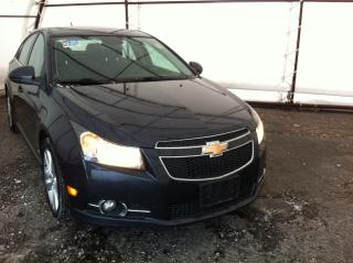 Used 2014 Chevrolet Cruze 2LT RS, LEATHER HEATED SEATING, REMOTE VEHICLE STARTER, SUNROOF, REVERSE CAMERA for sale in Ottawa, ON