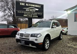Used 2009 BMW X3 30i LEATHER PANO ROOF NO ACCIDENT for sale in Mississauga, ON