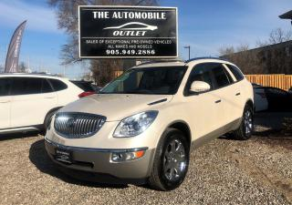 Used 2010 Buick Enclave CXL1 7 PASS NO ACCIDENT for sale in Mississauga, ON