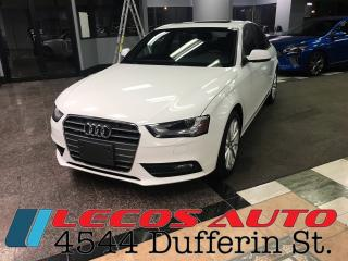 Used 2014 Audi A4 Progressiv for sale in North York, ON