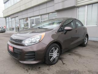 Used 2016 Kia Rio LX+ for sale in Mississauga, ON