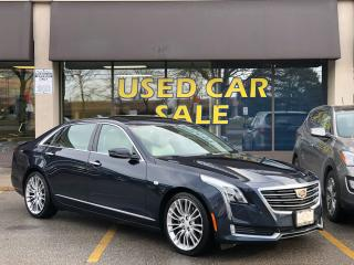 Used 2017 Cadillac CT6 LUXURY AWD 3.0 TT for sale in Vaughan, ON