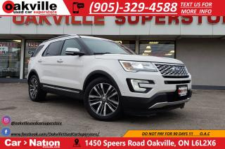 Used 2016 Ford Explorer PLATINUM | PANO ROOF | NAVI | 7 SEATS for sale in Oakville, ON