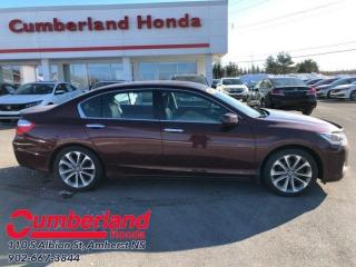 Used 2015 Honda Accord Sedan Sport  Bluetooth - Heated Seats - Back Up Camera for sale in Amherst, NS