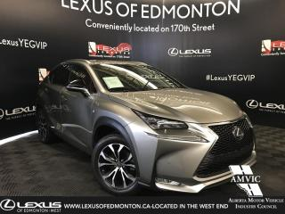Used 2016 Lexus NX 200t F SPORT SERIES 3 for sale in Edmonton, AB