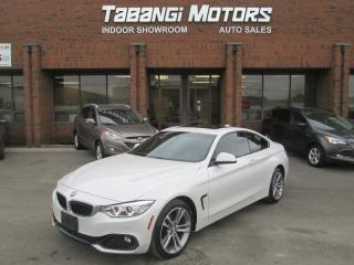 Used 2014 BMW 4 Series NO ACCIDENT | SPORT LINE | NAVIGATION | LEATHER | SUNROOF | for sale in Mississauga, ON