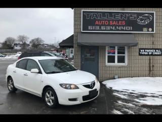 Used 2008 Mazda MAZDA3 for sale in Kingston, ON