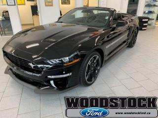 New 2019 Ford Mustang GT PREMIUM CONVERTIBLE for sale in Woodstock, ON
