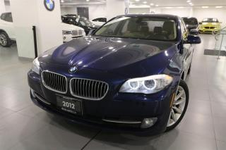 Used 2012 BMW 528 i xDrive -ACCIDENT FREE|BACK UP CAMERA|NAVIGATION for sale in Newmarket, ON