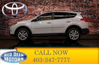 Used 2015 Toyota RAV4 AWD Limited Leather Roof Nav for sale in Red Deer, AB