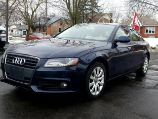 Used 2010 Audi A4 4dr Sdn Auto quattro 2.0T for sale in Guelph, ON
