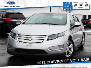 Used 2012 Chevrolet Volt Base Electrique for sale in Victoriaville, QC
