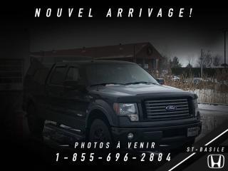 Used 2012 Ford F-150 FX4 + BAS KILO + BOITE FIBRE + WOW !!! for sale in St-Basile-le-Grand, QC