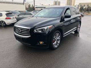 Used 2013 Infiniti JX35 Nav/Backup Cam/Dual sun roof/tv for sale in North York, ON