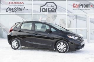 Used 2015 Honda Fit LX ***GARANTIE 10 ANS/200 000 KM*** for sale in Québec, QC