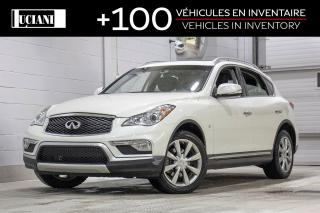 Used 2017 Infiniti QX50 Journey, Camera for sale in Montréal, QC